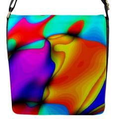 Crazy Effects Flap Closure Messenger Bag (small) by ImpressiveMoments