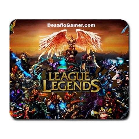 Lol Mousepad By Desafío Gamer   Large Mousepad   S1lj0w0as6cj   Www Artscow Com Front