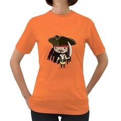 Captain Sparrow Womens' T Shirt (colored) by Contest1771913