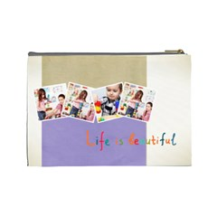 Kids By Kids   Cosmetic Bag (large)   Zjfutrhdeq69   Www Artscow Com Back