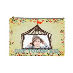 Kids By Kids   Cosmetic Bag (large)   Ndpjhwyu9p5z   Www Artscow Com Front