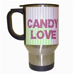love - Travel Mug (White)