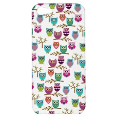 Happy Owls Apple Iphone 5 Hardshell Case by Ancello