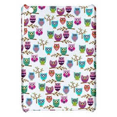 Happy Owls Apple Ipad Mini Hardshell Case by Ancello