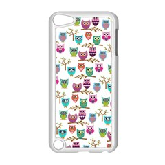 Happy Owls Apple Ipod Touch 5 Case (white) by Ancello