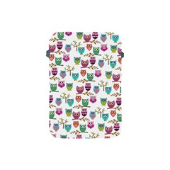 Happy Owls Apple Ipad Mini Protective Sleeve by Ancello