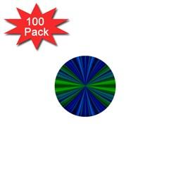 Design 1  Mini Button (100 Pack) by Siebenhuehner