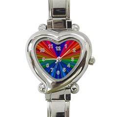 Design Heart Italian Charm Watch  by Siebenhuehner