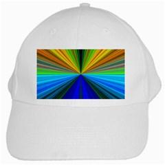 Design White Baseball Cap by Siebenhuehner