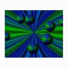 Magic Balls Glasses Cloth (small, Two Sided) by Siebenhuehner