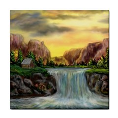 Brentons Waterfall   Ave Hurley   Artrave   Ceramic Tile by ArtRave2