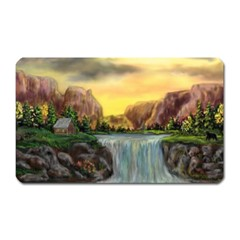 Brentons Waterfall   Ave Hurley   Artrave   Magnet (rectangular) by ArtRave2