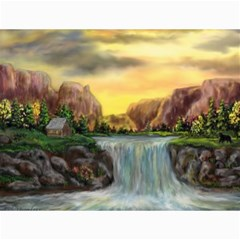 Brentons Waterfall   Ave Hurley   Artrave   Canvas 12  X 16  (unframed) by ArtRave2