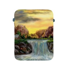 Brentons Waterfall   Ave Hurley   Artrave   Apple Ipad Protective Sleeve by ArtRave2