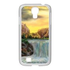 Brentons Waterfall   Ave Hurley   Artrave   Samsung Galaxy S4 I9500/ I9505 Case (white)