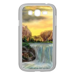 Brentons Waterfall   Ave Hurley   Artrave   Samsung Galaxy Grand Duos I9082 Case (white) by ArtRave2