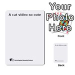 CAH_BLANK - Multi-purpose Cards (Rectangle)