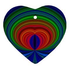 Design Heart Ornament (two Sides) by Siebenhuehner