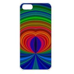 Design Apple Iphone 5 Seamless Case (white) by Siebenhuehner