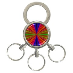 Design 3 Ring Key Chain by Siebenhuehner