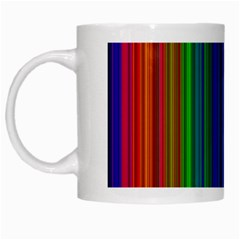 Strips White Coffee Mug by Siebenhuehner
