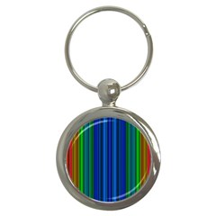 Strips Key Chain (round) by Siebenhuehner