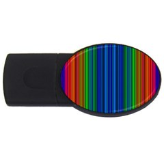 Strips 2gb Usb Flash Drive (oval) by Siebenhuehner