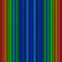 Strips Canvas 16  X 16  (unframed) by Siebenhuehner