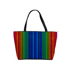 Strips Large Shoulder Bag by Siebenhuehner