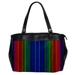 Strips Oversize Office Handbag (one Side) by Siebenhuehner