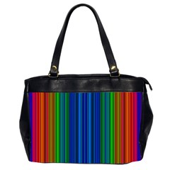 Strips Oversize Office Handbag (two Sides) by Siebenhuehner