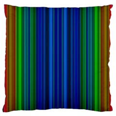 Strips Large Cushion Case (two Sided)  by Siebenhuehner