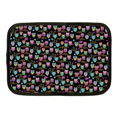 Happy Owls Netbook Case (Medium) by Ancello