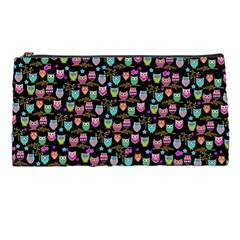 Happy Owls Pencil Case by Ancello