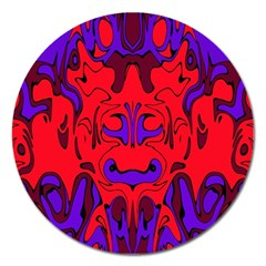 Abstract Magnet 5  (round) by Siebenhuehner