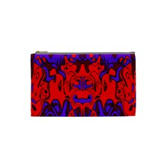 Abstract Cosmetic Bag (small) by Siebenhuehner