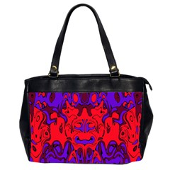 Abstract Oversize Office Handbag (two Sides) by Siebenhuehner
