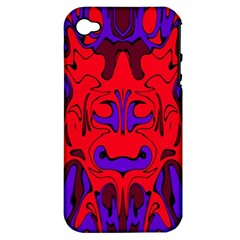 Abstract Apple Iphone 4/4s Hardshell Case (pc+silicone) by Siebenhuehner