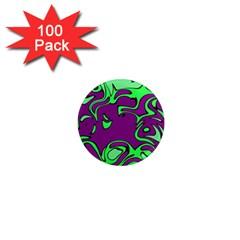 Abstract 1  Mini Button Magnet (100 Pack) by Siebenhuehner