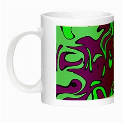 Abstract Glow In The Dark Mug by Siebenhuehner