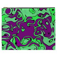Abstract Cosmetic Bag (xxxl) by Siebenhuehner