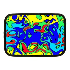 Abstract Netbook Sleeve (medium) by Siebenhuehner