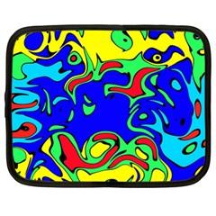 Abstract Netbook Sleeve (xl) by Siebenhuehner