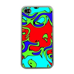 Abstract Apple Iphone 4 Case (clear) by Siebenhuehner