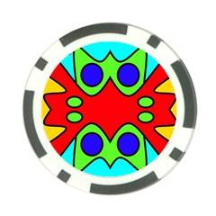 Abstract Poker Chip by Siebenhuehner