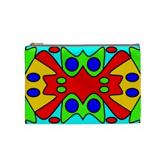 Abstract Cosmetic Bag (medium) by Siebenhuehner