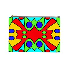Abstract Cosmetic Bag (large) by Siebenhuehner