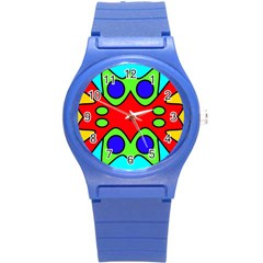 Abstract Plastic Sport Watch (small) by Siebenhuehner