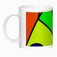 Abstract Glow In The Dark Mug by Siebenhuehner
