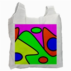 Abstract Recycle Bag (two Sides) by Siebenhuehner